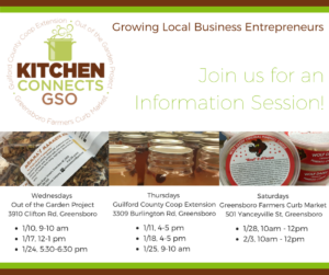Cover photo for Kitchen Connects GSO -Growing Local Business Entrepreneurs Information Sessions!