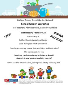 Cover photo for School Garden Workshop
