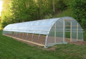 Cover photo for Interested in High Tunnel Production?