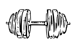 dumbbells graphic