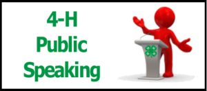 Cover photo for New Public Speaking 4-H Club
