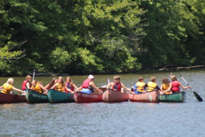 Cover photo for Come to 4-H Overnight Camp This Summer!