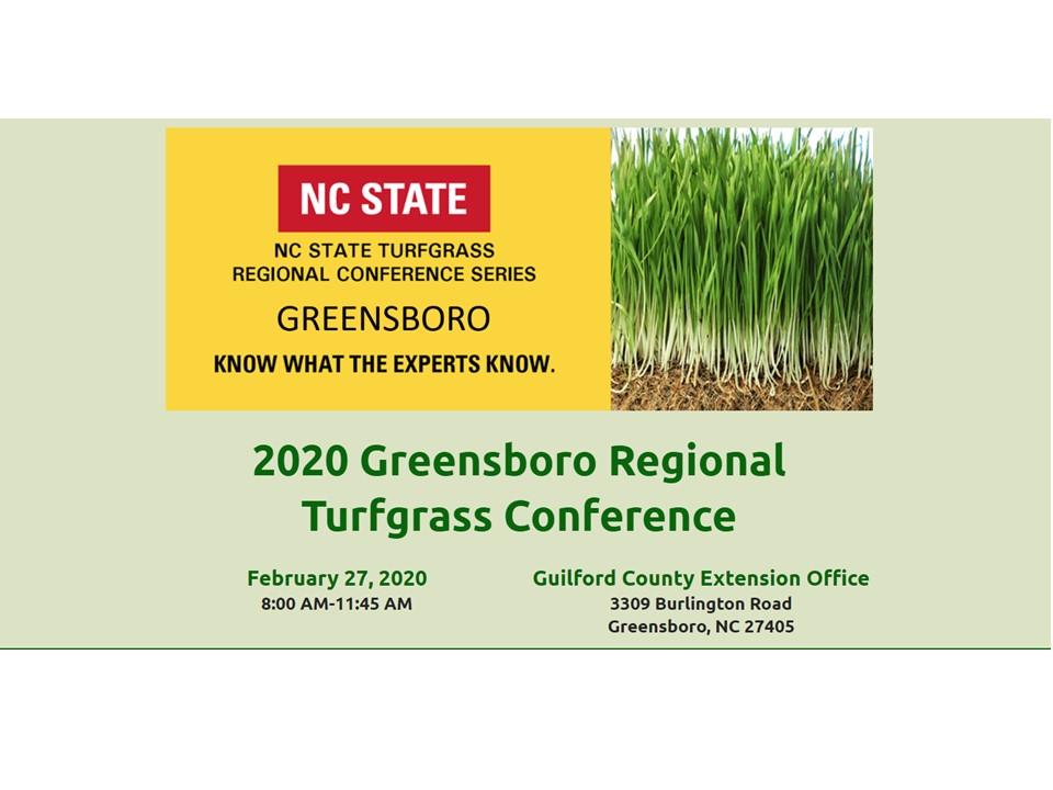Turfgrass conference invite