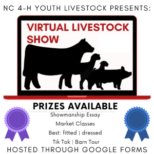 """Cover photo for Virtual Livestock Show """"Showing From Home"""""""
