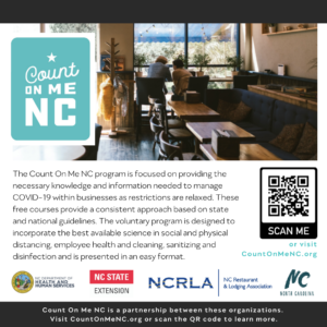 Cover photo for Count on Me NC Training Opportunities