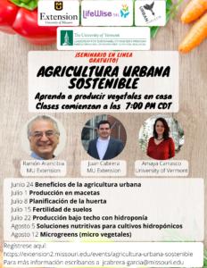 Agricultura Urbana Sostenible