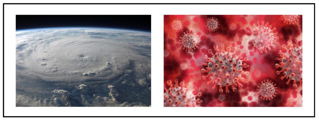 hurricane and covid
