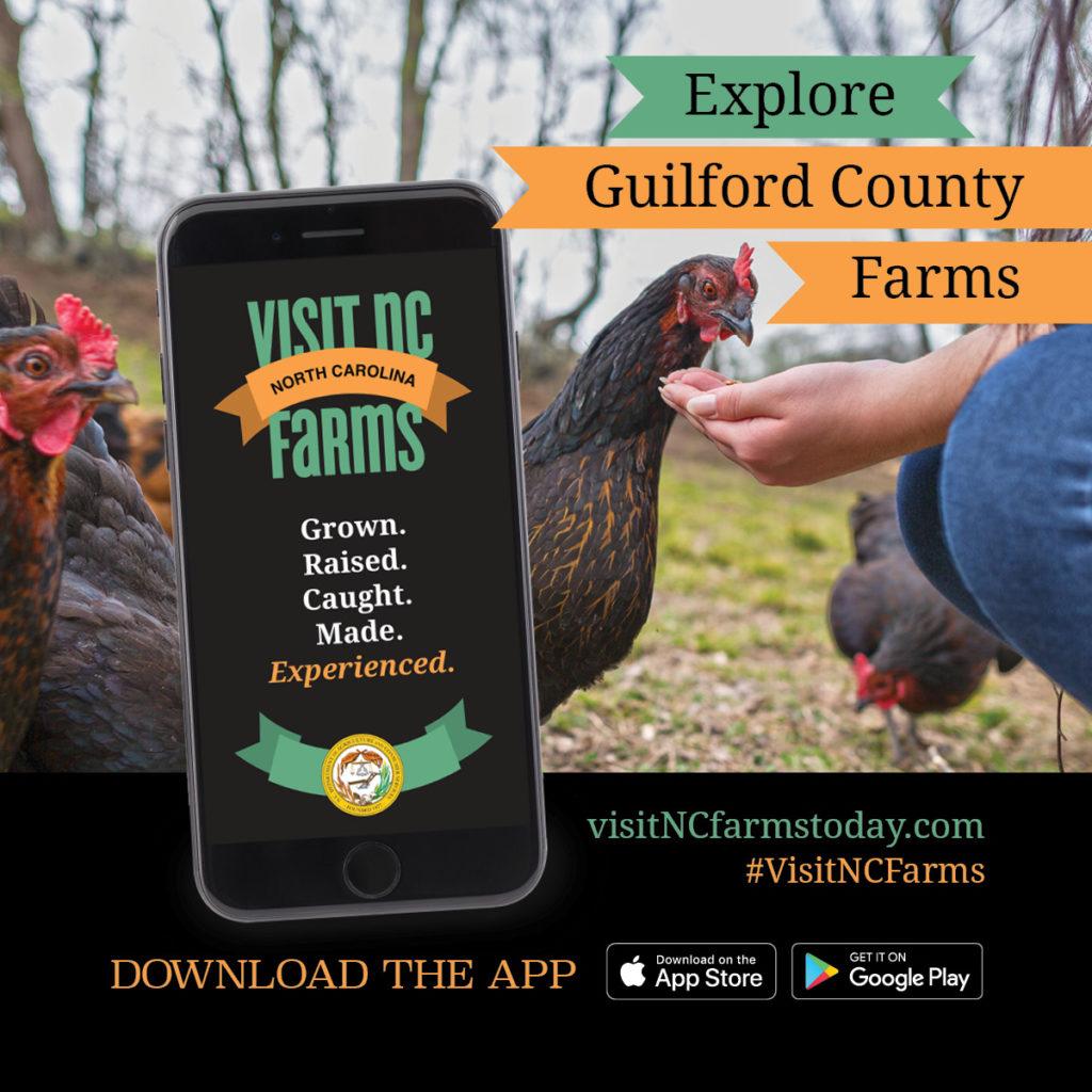 Visiti NC Farms app