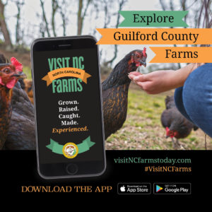 Cover photo for Download the Visit NC Farms App Today!