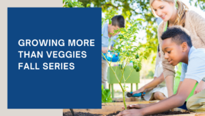 Cover photo for Growing More Than Veggies - Fall Series