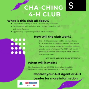 flyer for club